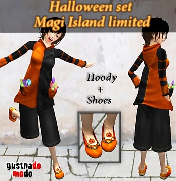 Quick Tip: New Halloween Items @ Magi Island