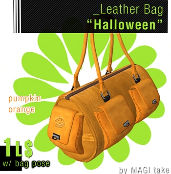New! L$1 Leather Handbag from Magi Take!